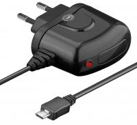 Goobay Micro USB laadija 2.1 A must